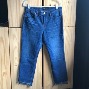 J.Crew slim broken-in boyfriend jeans